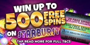 Win 500 Spins