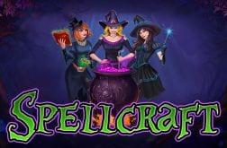 Spellcraft online slots game logo