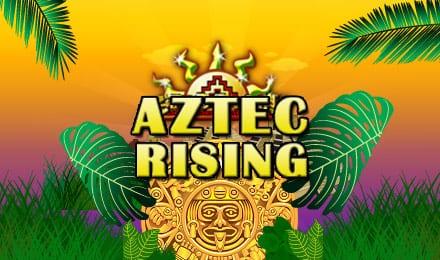 Aztec Rising slots game logo