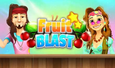Fruit Blast online slots game logo