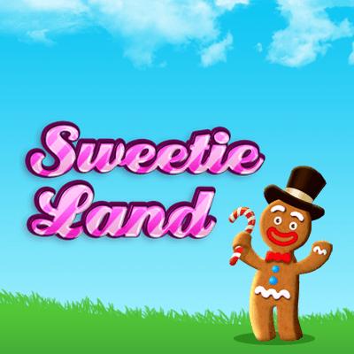 Sweetie Land online slots game logo