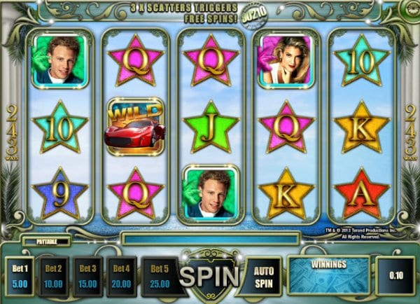 Beverly Hills 90210 Slots gameplay