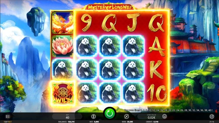 Mystery of Long Wei Slot Game