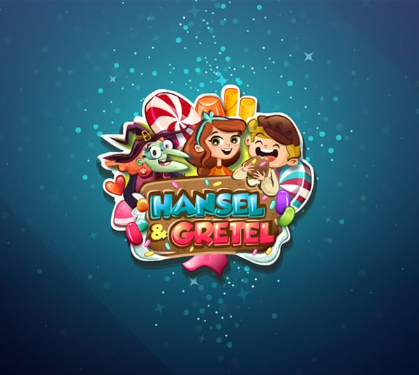 Hansel and Gretel online slots game logo