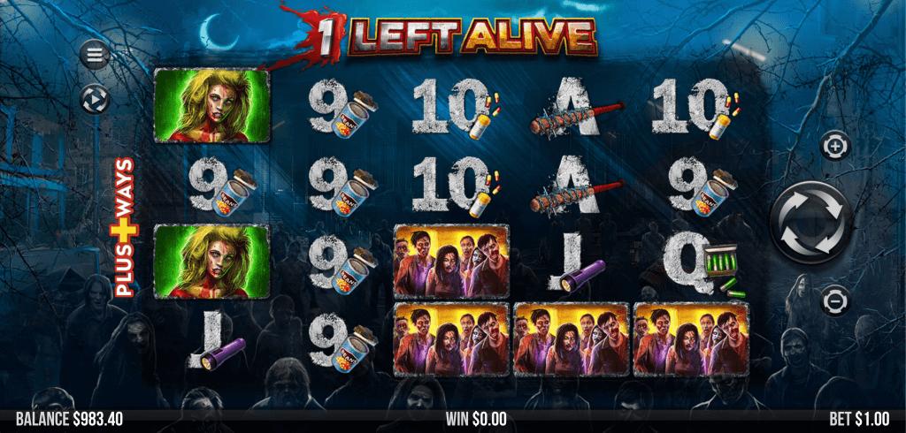 1 Left Alive Slot Game UK