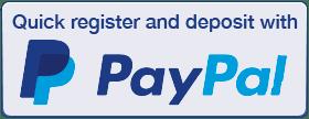 paypal deposits at Wizard Slots