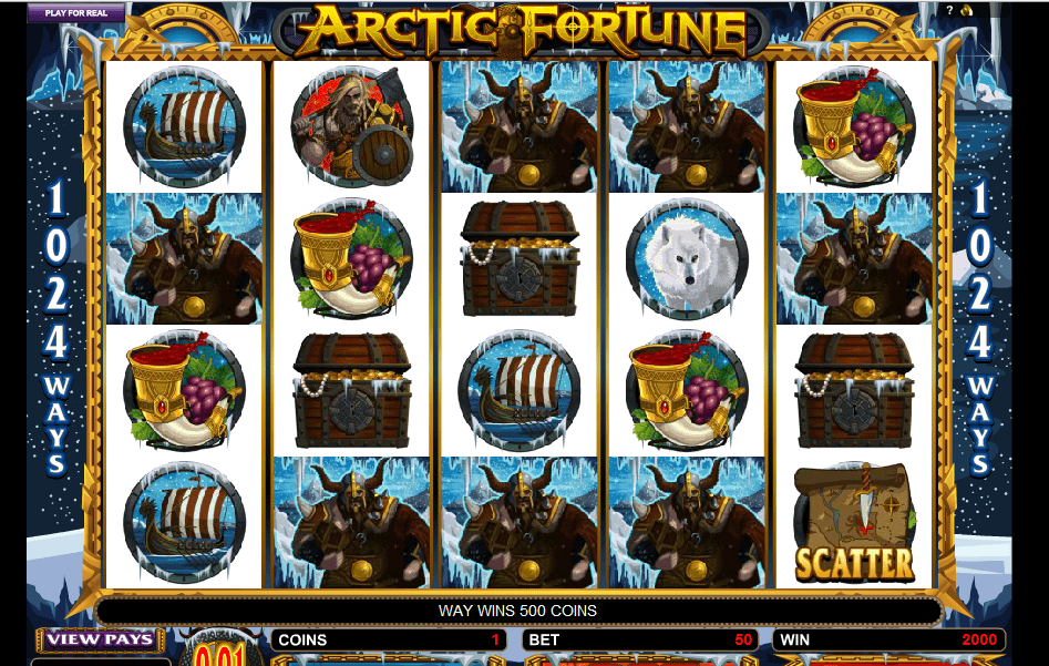 Arctic Fortune Slots gameplay