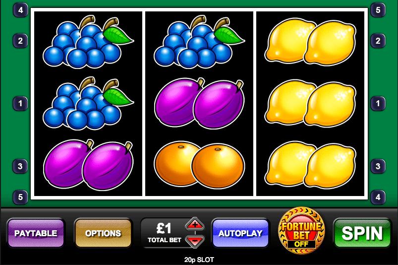 20p Slot Game