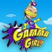 Gamma Girl online slots game logo