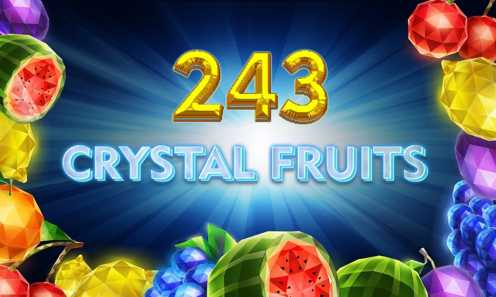 243 crystal fruits slots game logo
