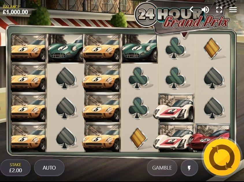 24 Hour Grand Prix Free Slots