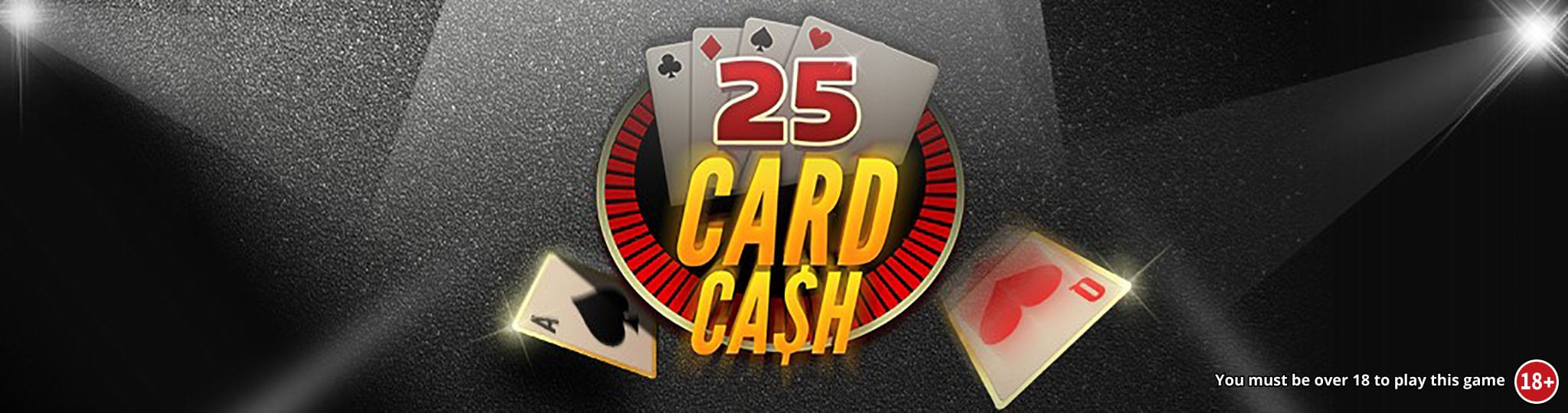 25 Card Cash Wizard Slots
