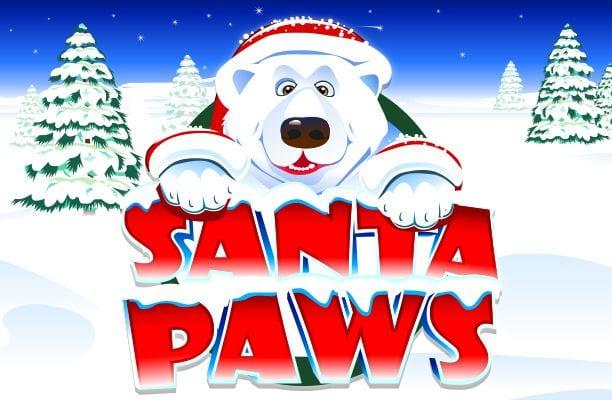 Santa Paws Slots Game logo