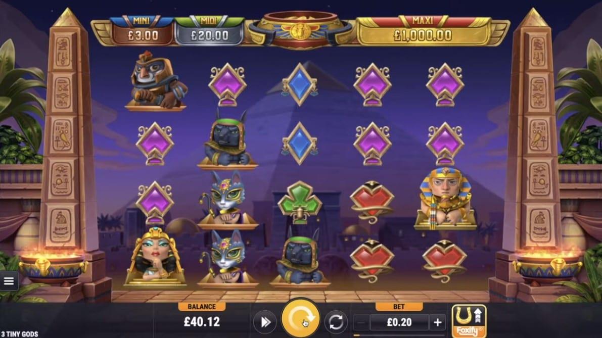Play Tiny Gods Slot Game
