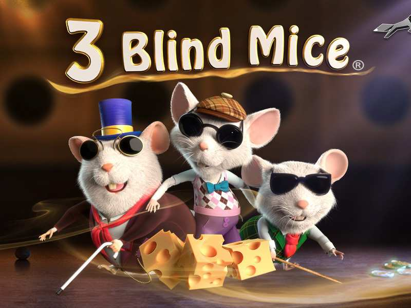 3 blind mice slots game logo