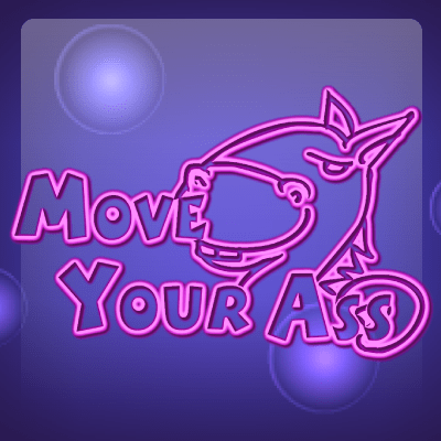 Move your Ass online slots game logo