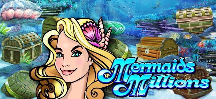 Mermaids Millions Online slots game logo