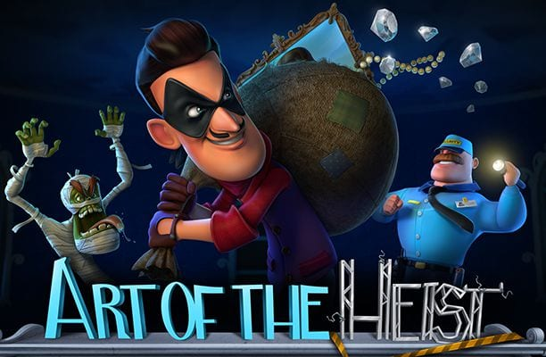 Art of the Heist slots game logo