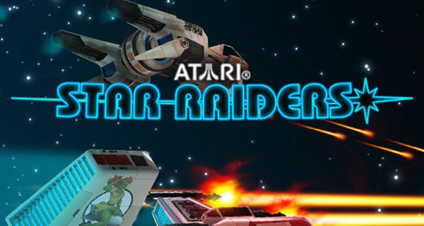 Star Raiders Slot logo