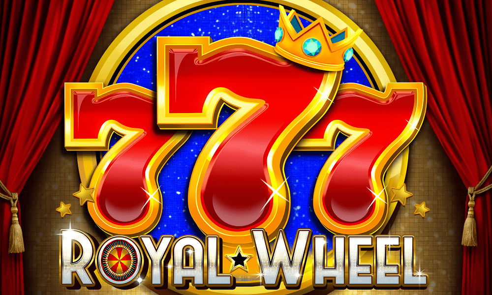 777 Royal Wheel Slot Logo Wizard Slots