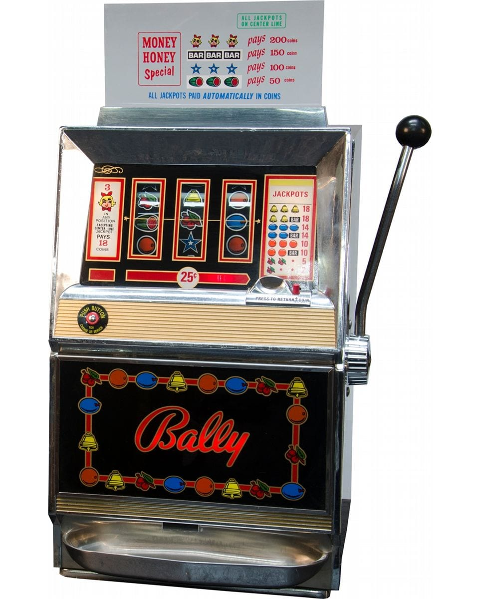 Bally Money Honey slots machine