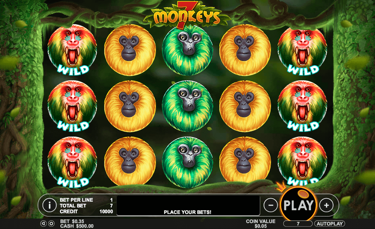 7 monkeys gameplay