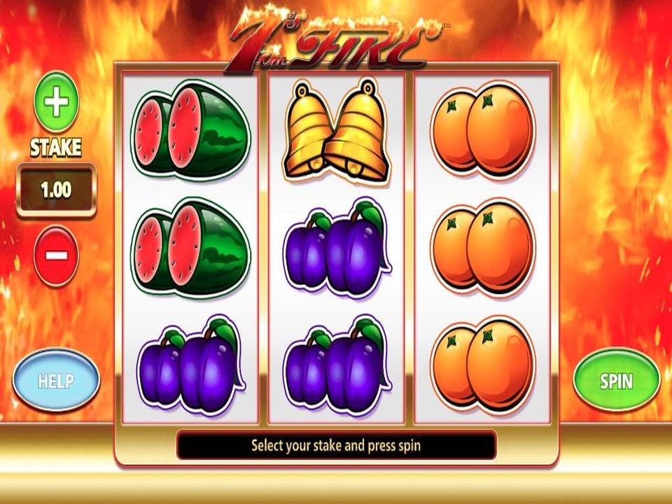 7s Of Fire Free Slots
