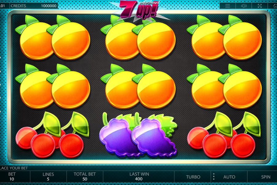 7 UP Slots game gameplay