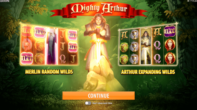 Mighty Arthur bonus
