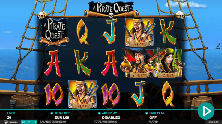 Pirate Quest Slot Gameplay