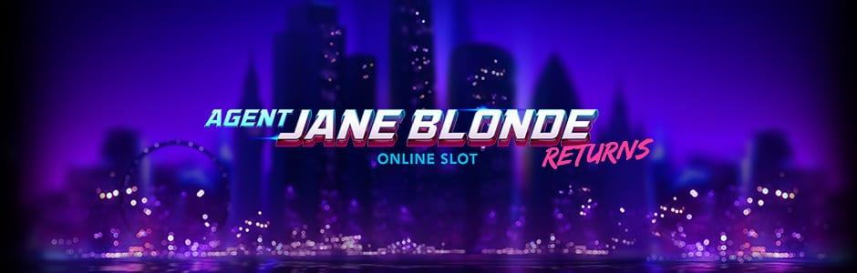 Agent Jane Blonde Returns Wizard Slots