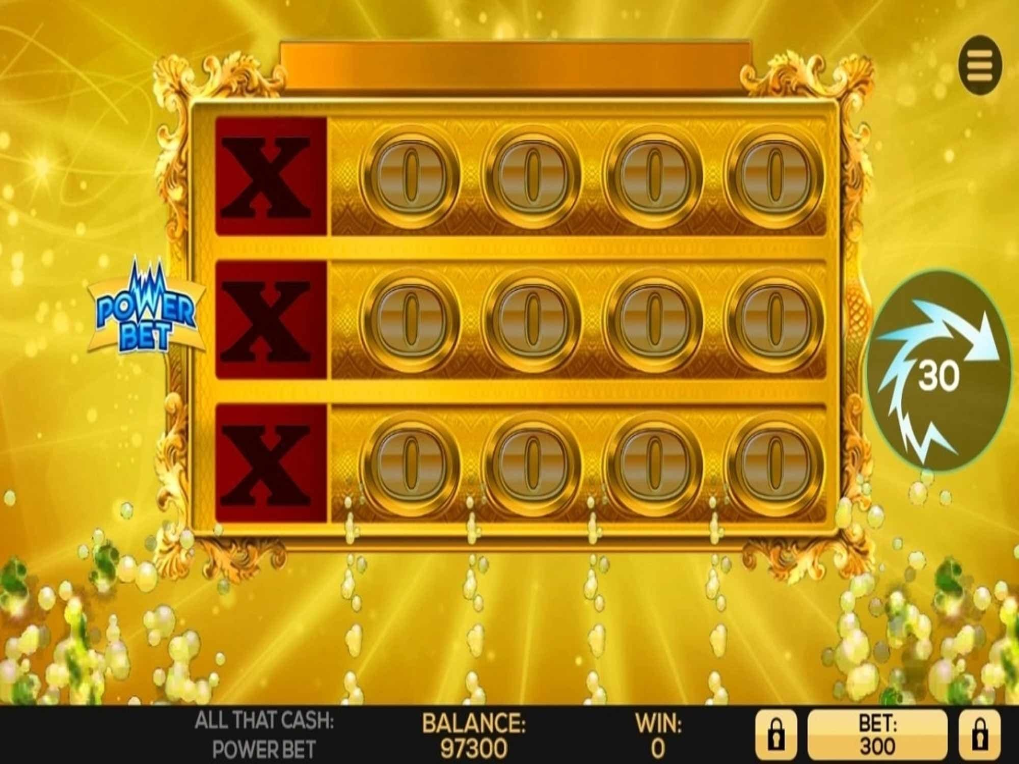 All That Cash Power Bet casino gameplay