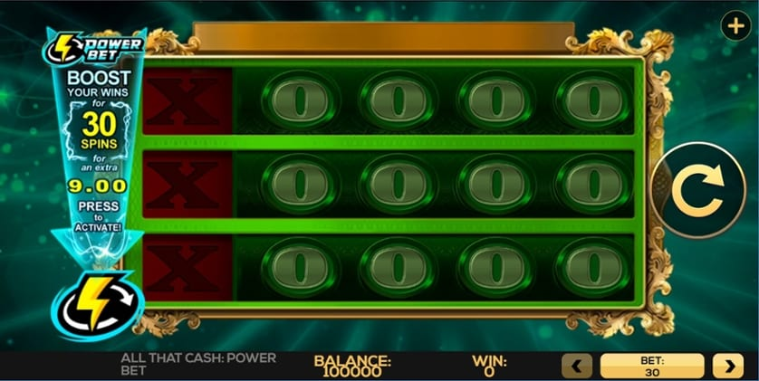 All That Cash Power Bet Slot Wizard Slots