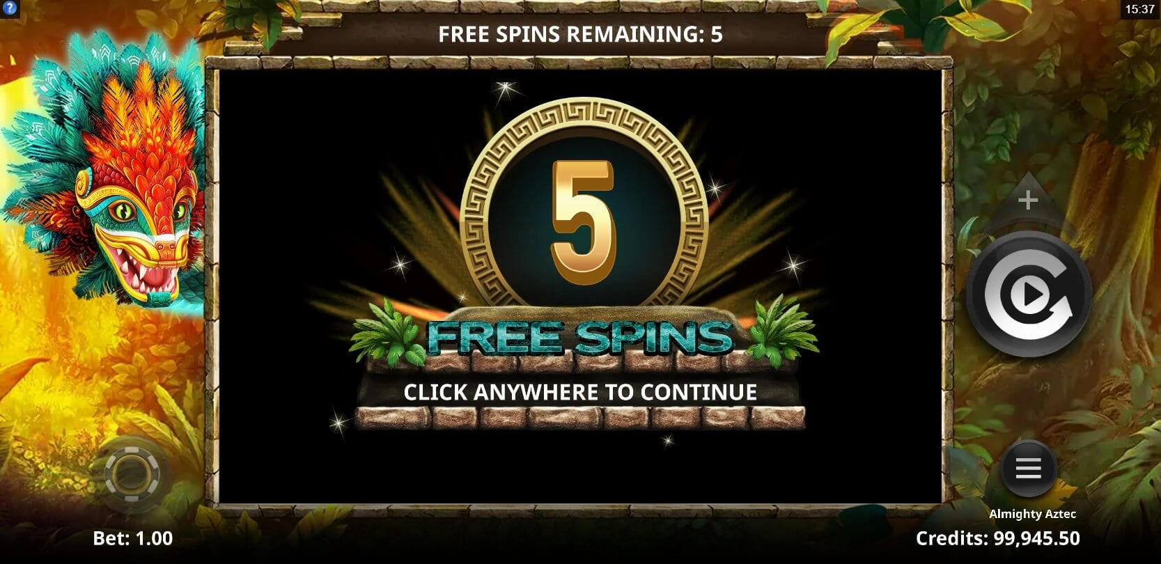 Almighty Aztec Free Spins Slot