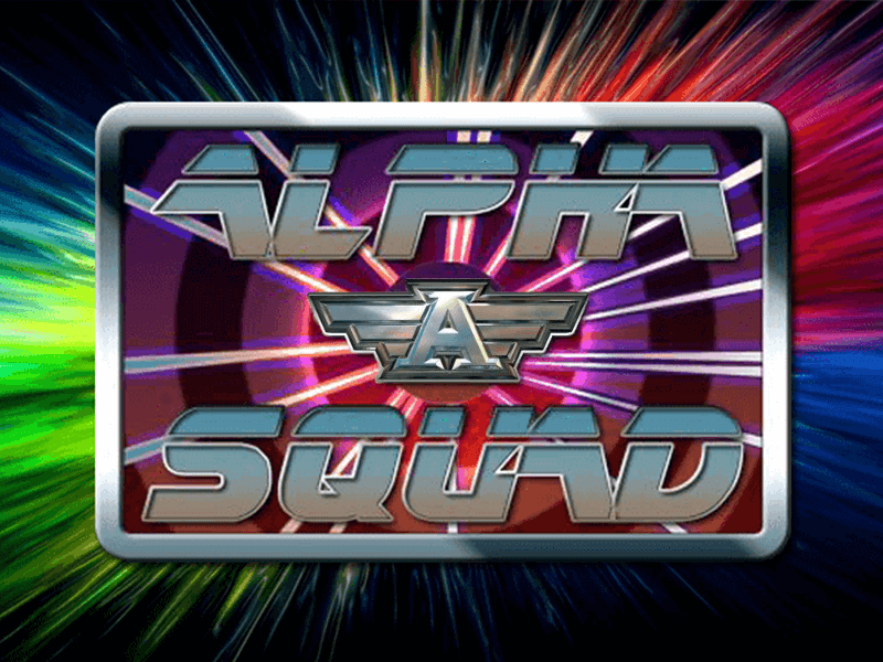 Alpha Squad slots game logo
