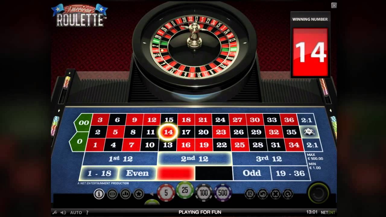 American ROulette net ent slot casino
