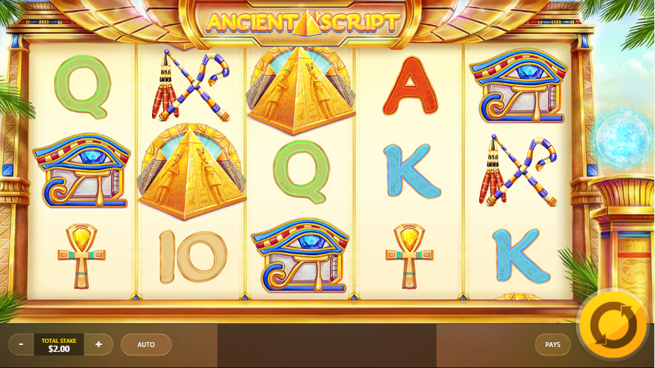 Ancient Script Slots Online