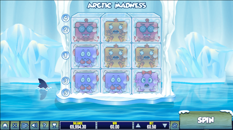 Arctic Madness game lobby