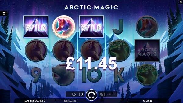Arctic Magic Game Win