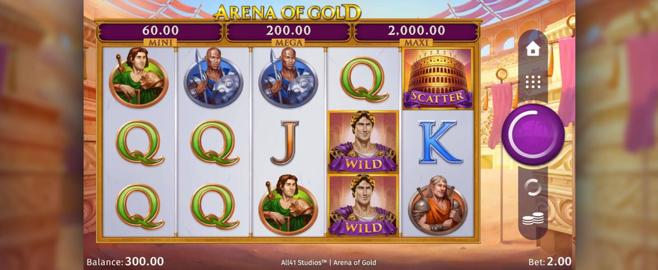 Arena of Gold Online Slots