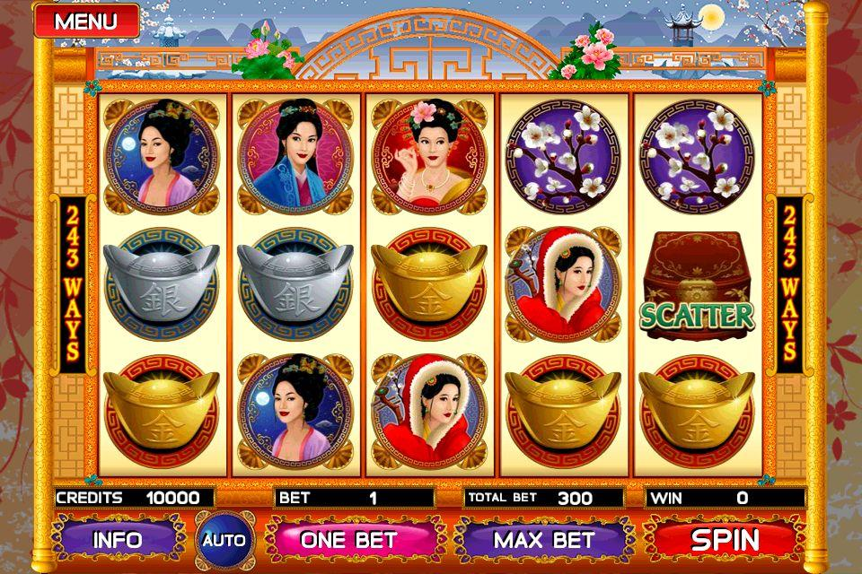 Asian Beauty slots gameplay