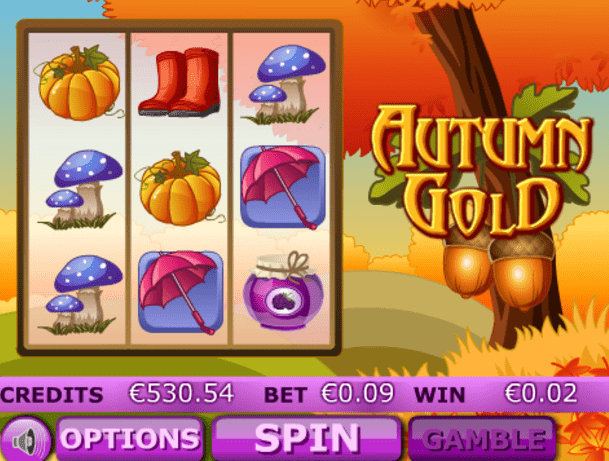 Autumn Gold slots gameplay