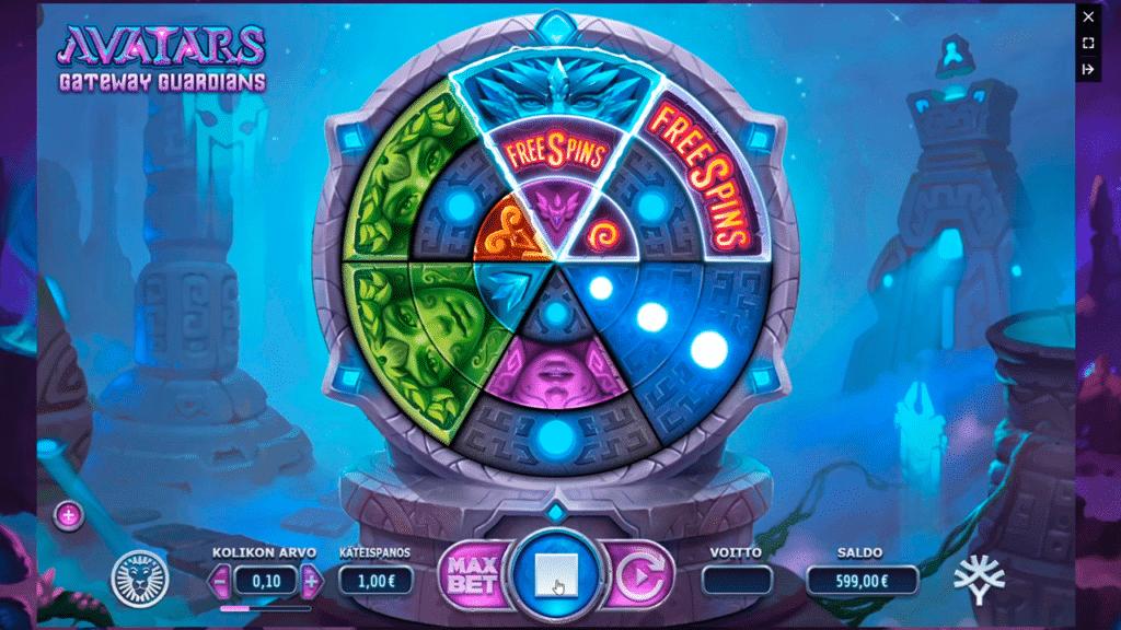 Avatars Gateway Guardians Slots Game