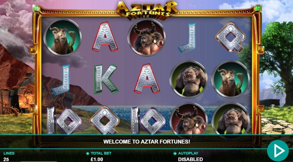 Aztar Fortunes Gameplay
