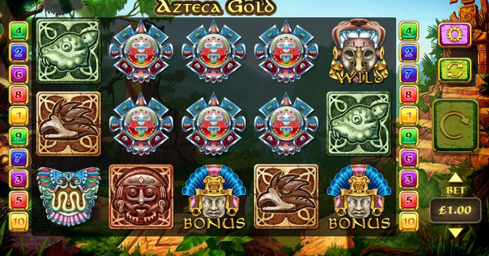 Azteca Gold Gameplay