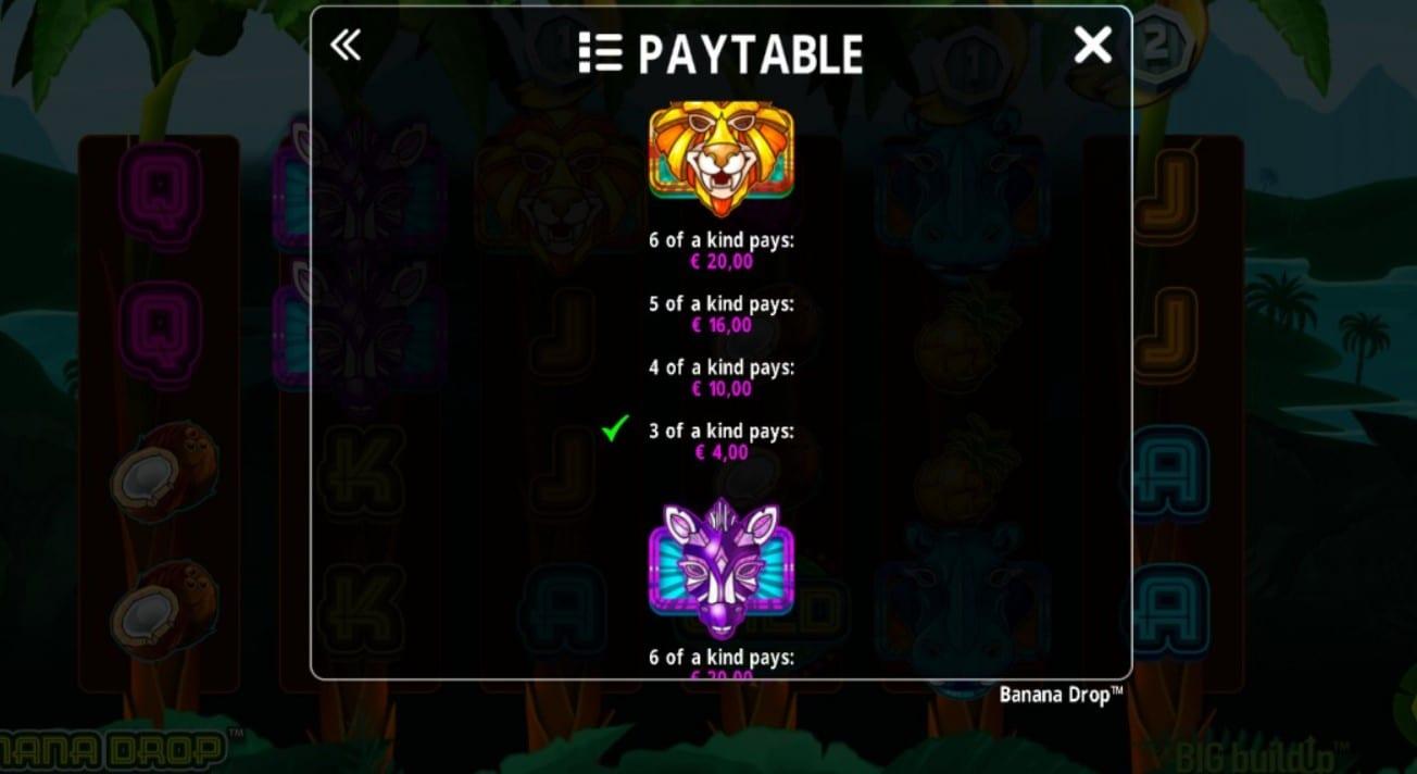Banana Drop Online Slots