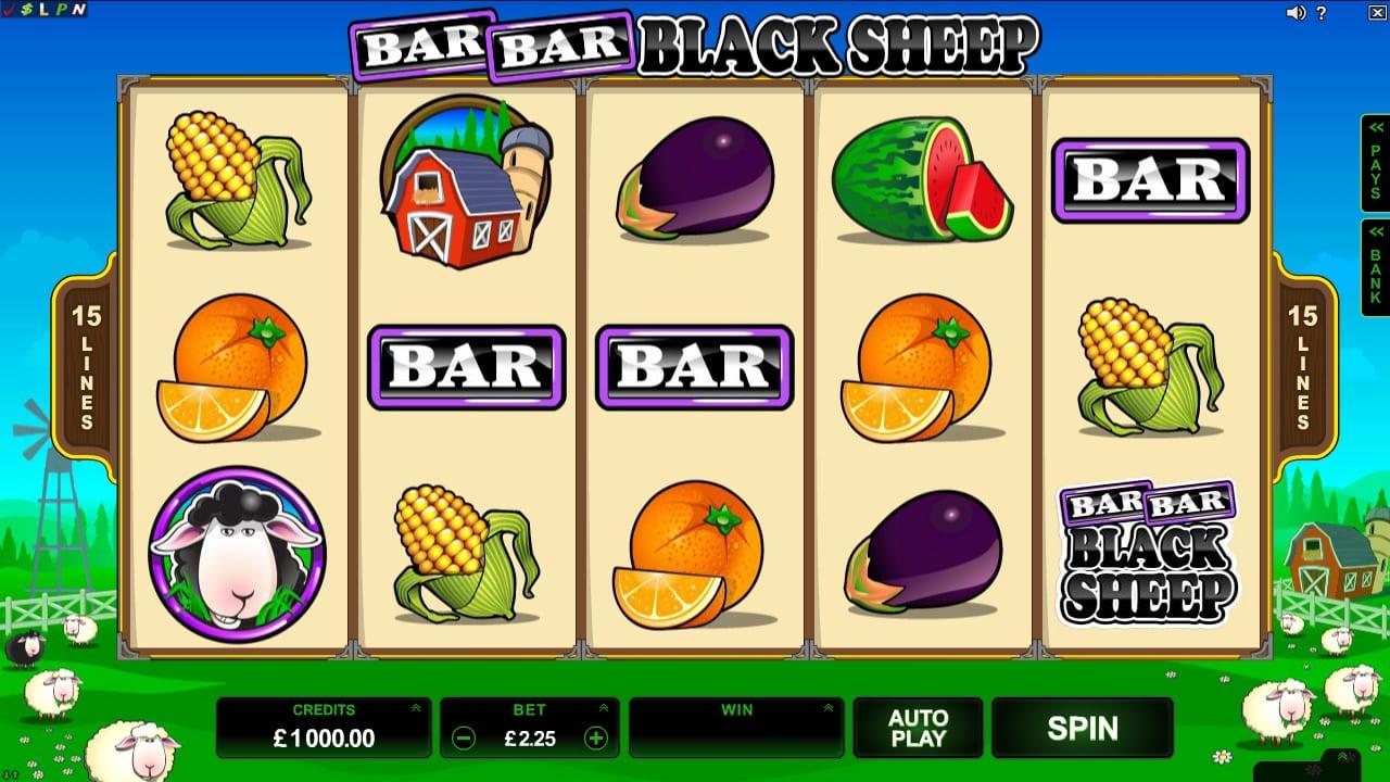 Bar Bar Black Sheep slots gameplay