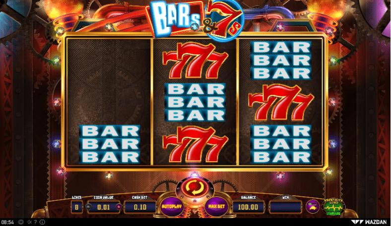 Bars & 7s Slots Games