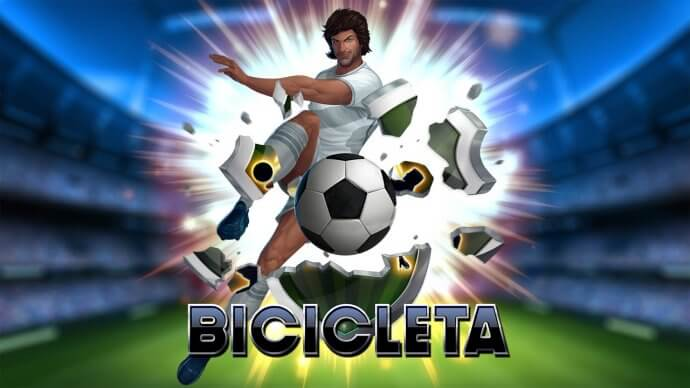 Bicicleta online slots game logo