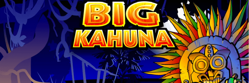 Big Kahuna slots game logo